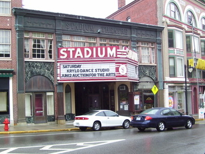 Stadium  Theater  Building  Woonsocket  Rhode  Island