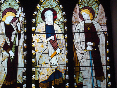 Stained Glass Windows Of Cathedral