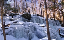 Stairway Falls - Pike County PA