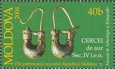 Stamp Of Moldova Md 4 9 7