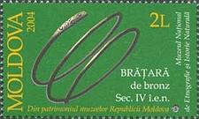 Stamp Of Moldova Md 5 0 0
