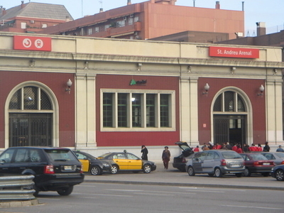 Sant Andreu Arenal Railway Station