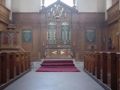 St. Andrew-by-the-Wardrobe Interior