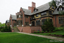 Stan Hywet Hall And Gardens Side View