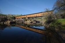 Knights Ferry Bridge On The Stanislaus River