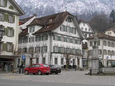 Stans  Dorfplatz