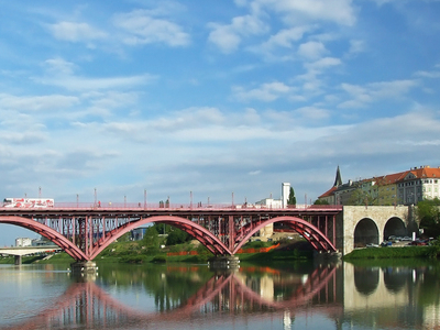 The Maribor Old Bridge