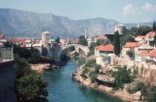 View Of Stari Most Bridge