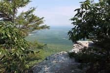 State Park View From Hanging Rock NC