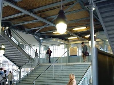 La Chapelle Station Entrance