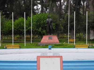 Statue At Parque