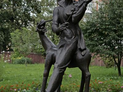 Statue  Marc  Chagall
