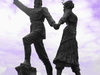 Statue Local Folk Dancers Arhavi