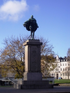 Statue Of Charles X I Of Sweden