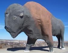 Statue Of Buffalo