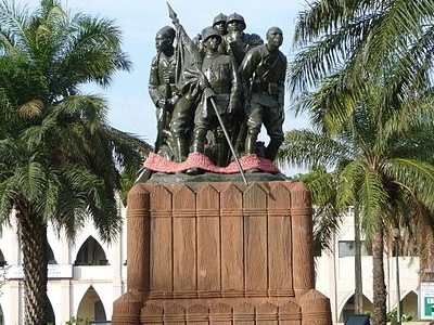 Statue Of Freedom In Bamako