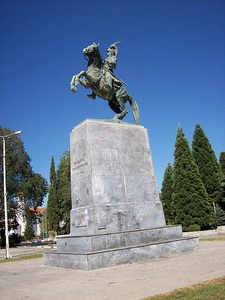 Statue Of General Theodoros Kolokotronis