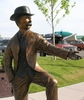 Statue Of I. B. Perrine, Twin Falls Founding Father