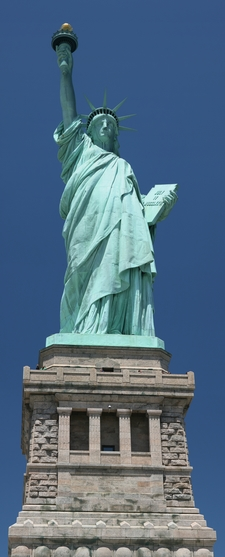 Statue Of Liberty Front View
