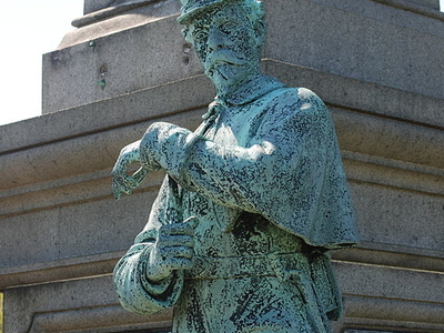 Statue Of Union Soldier