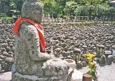 Statues At Adashino Nenbutsu-ji