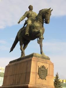 Statues Of Stefan Cel Mare (Stefan The Great)