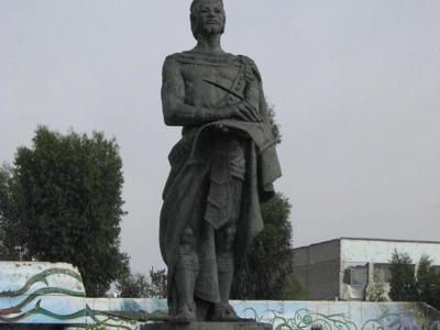 Statue Nezahualcoyotl Cd Neza