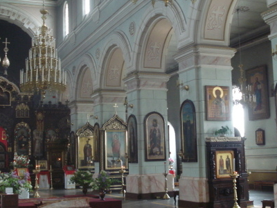 St  Boris And  Gleb  Orthodox  Cathedral In  Daugavpils