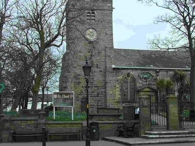 St Chad\'s Church And The Market Place