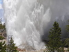 Steamboat Geyser - Yellowstone - Wyoming - USA