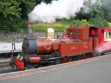 Steam Train At Douglas Station