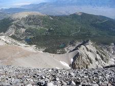 Stella & Teresa Lakes From Wheeler Peak