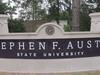 Stephen  F .  Austin  State  University Sign