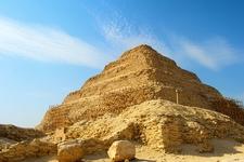 Step Pyramid At Saqqara - Giza