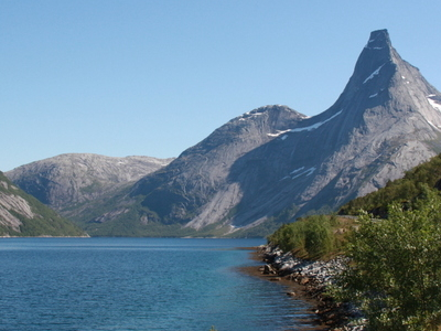 Stetind Mountain And The Fjord