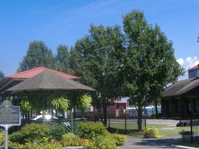 Stevenson  Railroad  Depot Gazebo