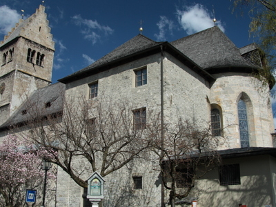 St .  Hippolyte  Church In  Zell Am See