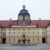Courtyard Of The Stift Melk