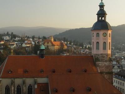 Stiftskirche  Baden   Baden