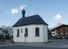 St. Jakob Chapel, Grän-Haldensee, Austria