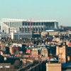 St James Park Newcastle As Seen From South Of The River Tyn