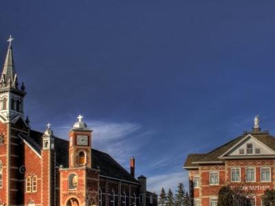 St  Jean  Baptiste  Church  Morinville  Alberta  Canada