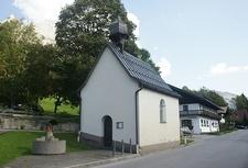St Johannes Baptist Chapel, Nesselwängle, Austria