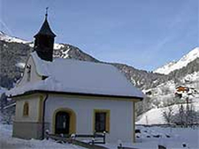 St-Johannes Nepomuk Chapel Virgen Austria