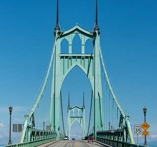 St. John's Bridge - Portland OR
