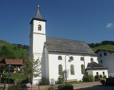 St Josef Parish Church Zöblen Austria