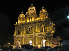 St Joseph Wangfujing Cathedral In Night