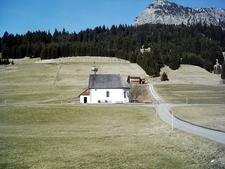 St. Leonhardskapelle,Tannheim, Austria