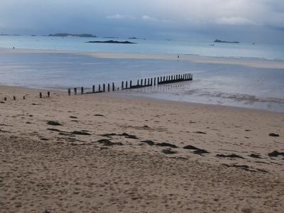 Beach At Saint-Malo