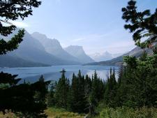 St. Mary Lake Trail At Montana - USA